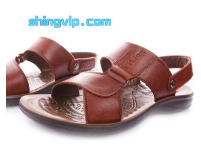 皮凉鞋检测