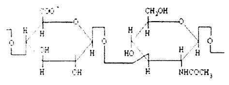透明质酸钠结构式