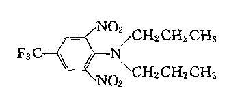 氟乐灵结构式