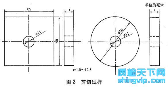 塑料剪切强度试验方法 穿孔法 检测标准图2
