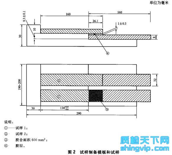 木地板铺装胶粘剂检测标准表2