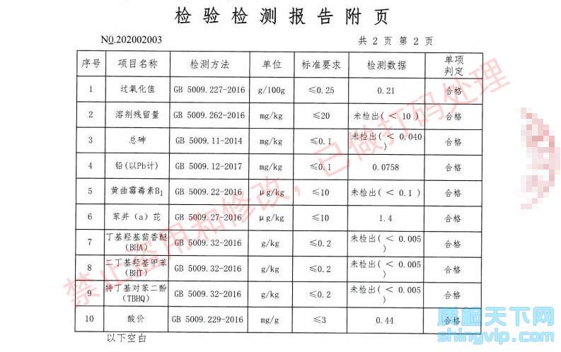 深圳食品检测报告3